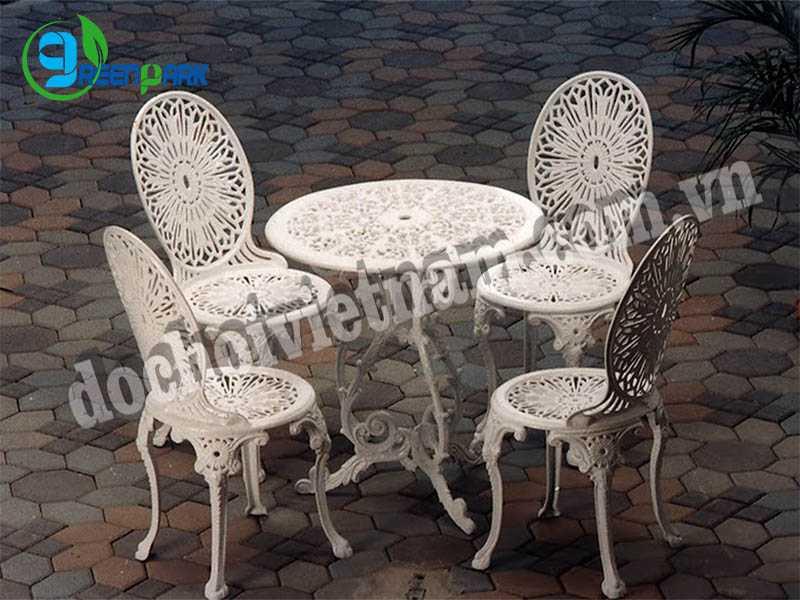 Bàn ghế sân vườn GP13208