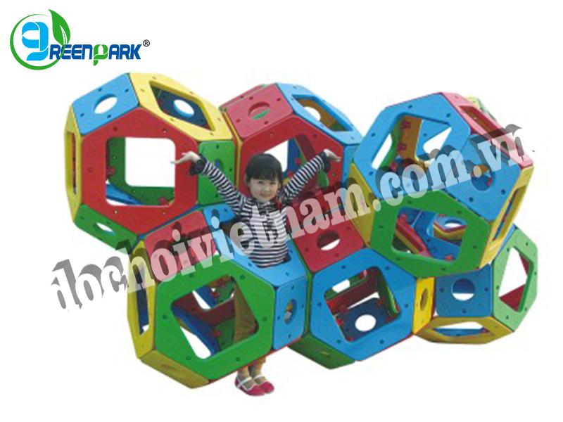 Bộ vận động thể chất khối lục lăng GP07603