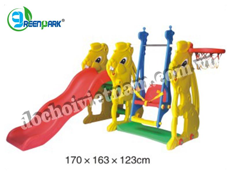 Cầu trượt xích đu GP07112