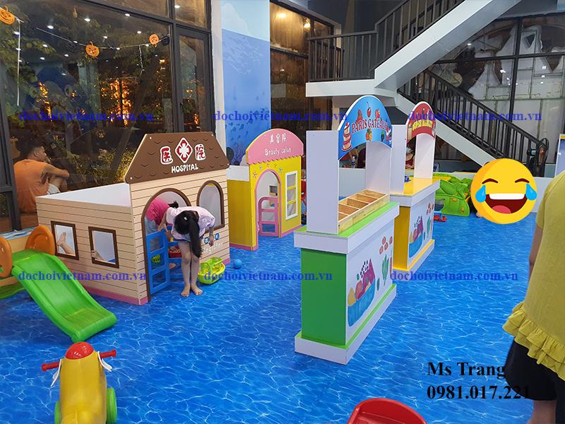 Lập kế hoạch chi tiết hoạt động kinh doanh khu vui chơi trẻ em