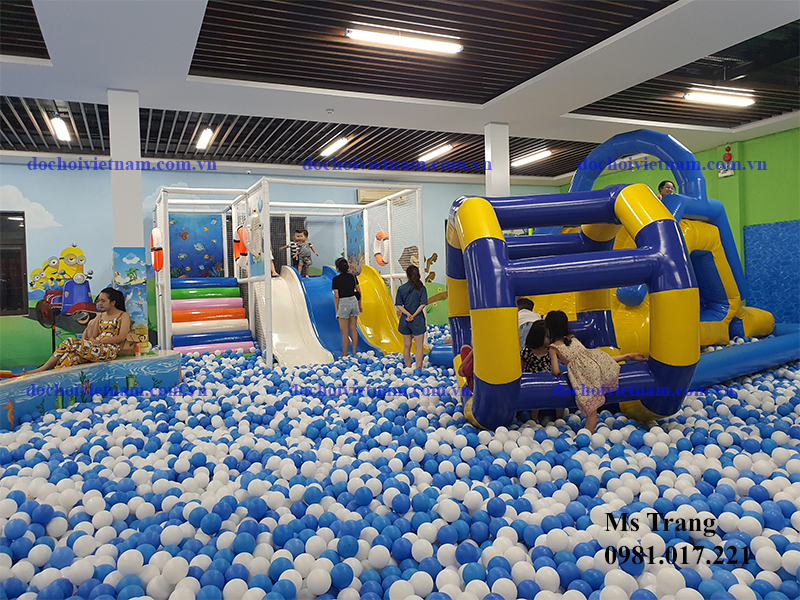 Khu vui chơi trẻ em trong nhà tại Cẩm Phả - Quảng Ninh