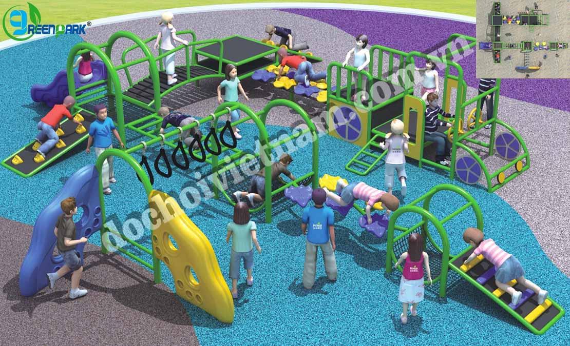 Thiết kế khu vui chơi ngoài trời cho trẻ em GP02009