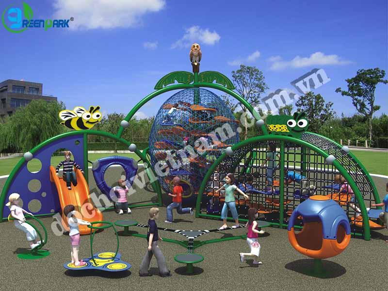 khu vui chơi ngoài trời cho trẻ em GP02013