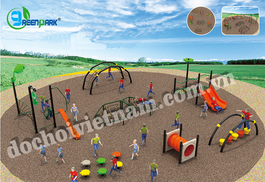Khu vui chơi trẻ em ngoài trời GP02002