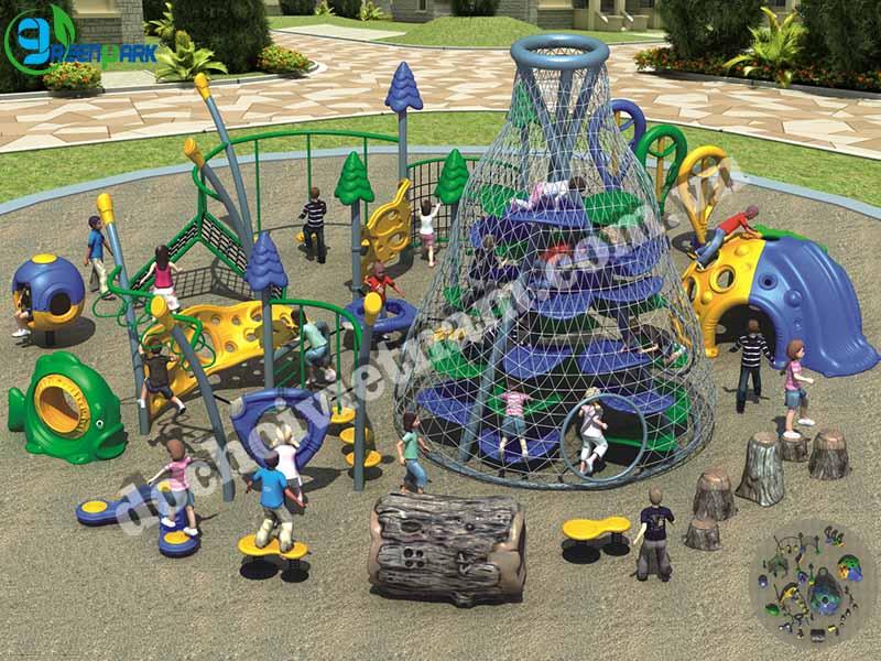 khu vui chơi trẻ em ngoài trời GP02012