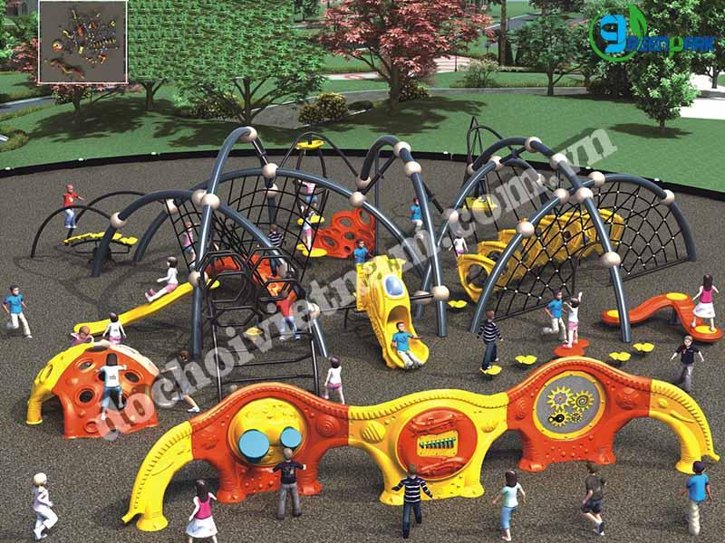 khu vui chơi trẻ em ngoài trời GP02015