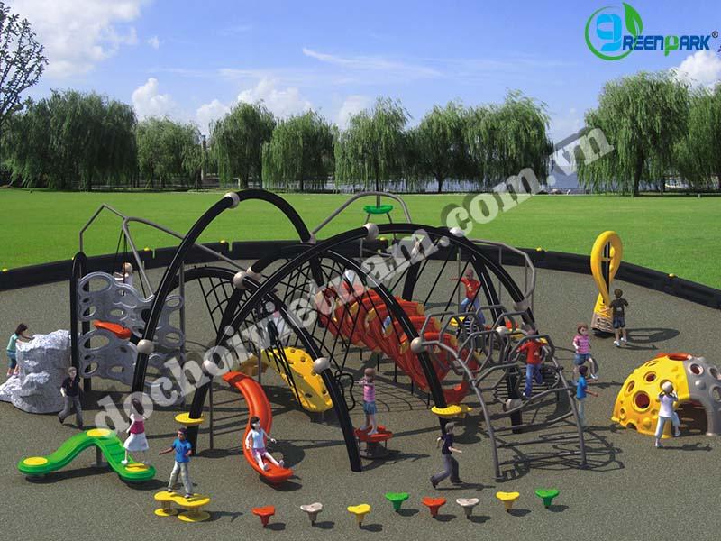 khu vui chơi trẻ em ngoài trời GP02017