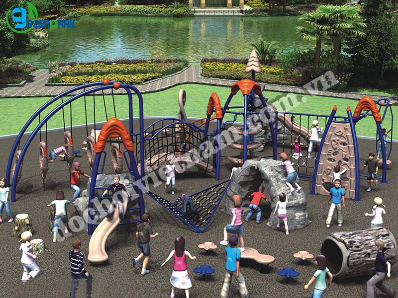 khu vui chơi trẻ em ngoài trời GP02021