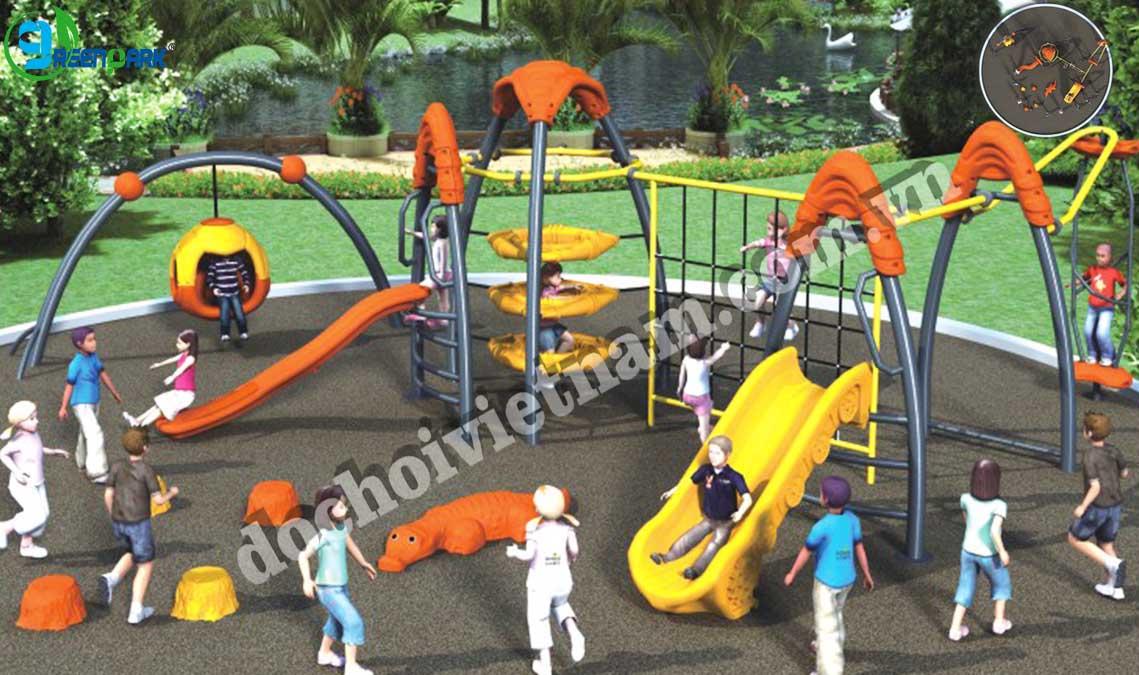 khu vui chơi trẻ em ngoài trời GP02022
