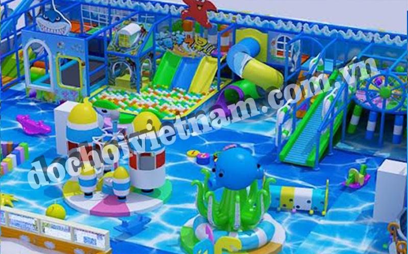 Nhà bóng của khu vui chơi trẻ em trong nhà GP01001