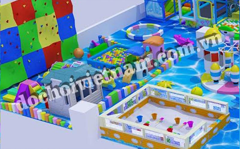 Leo núi của khu vui chơi trẻ em trong nhà GP01001