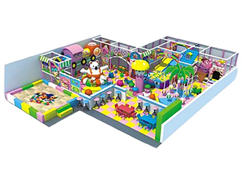 Hình ảnh 3D khu vui chơi trong nhà mã GP-KVTTN-0001