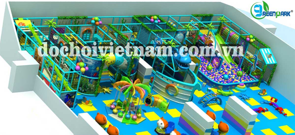 Sân chơi trẻ em trong nhà GP01009