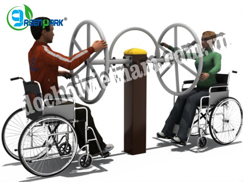 Thiết bị tập tay quay cỡ lớn cho người khuyết tật GP11038
