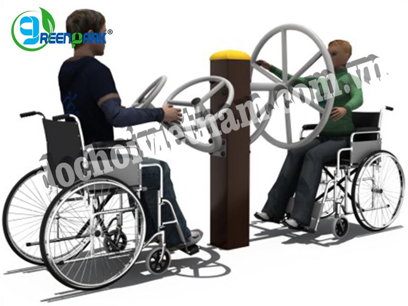 Thiết bị tập tay quay cho người khuyết tật GP11051