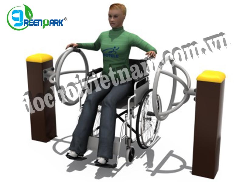 Thiết bị thể dục ngoài trời cho người khuyết tật GP11035