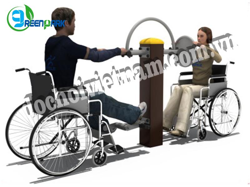 Thiết bị thể dục ngoài trời cho người khuyết tật GP11037