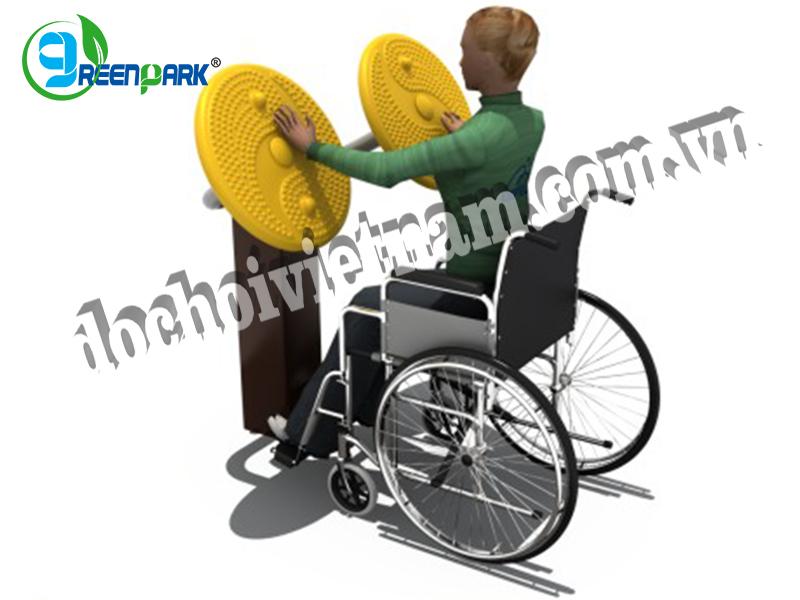 Thiết bị thể dục ngoài trời cho người khuyết tật GP11046