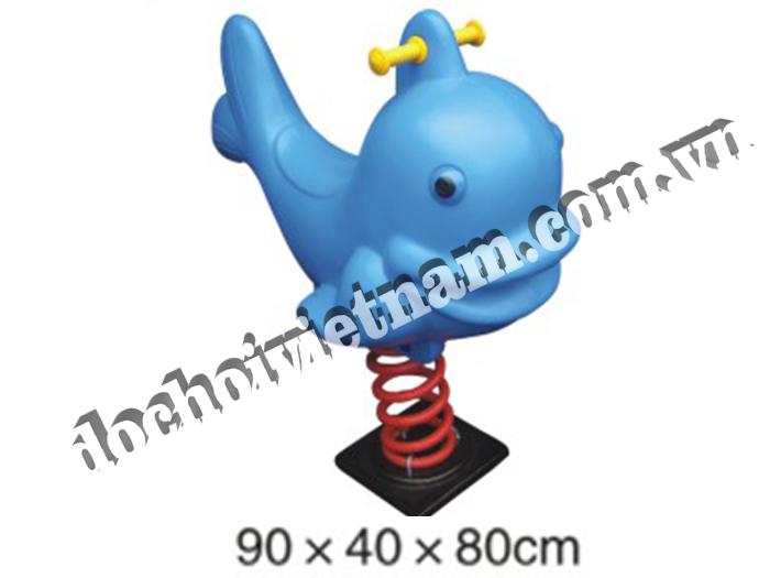 Thú nhún lò xo cá mập GP05501