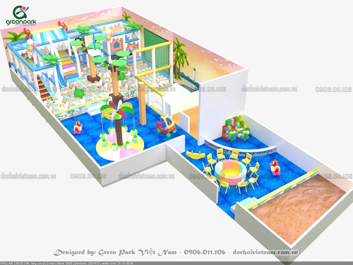 Đầu tư khu vui chơi trẻ em trong nhà ở Lạng Sơn