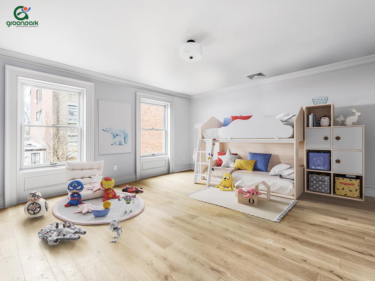 Phòng vui chơi cho bé tại nhà