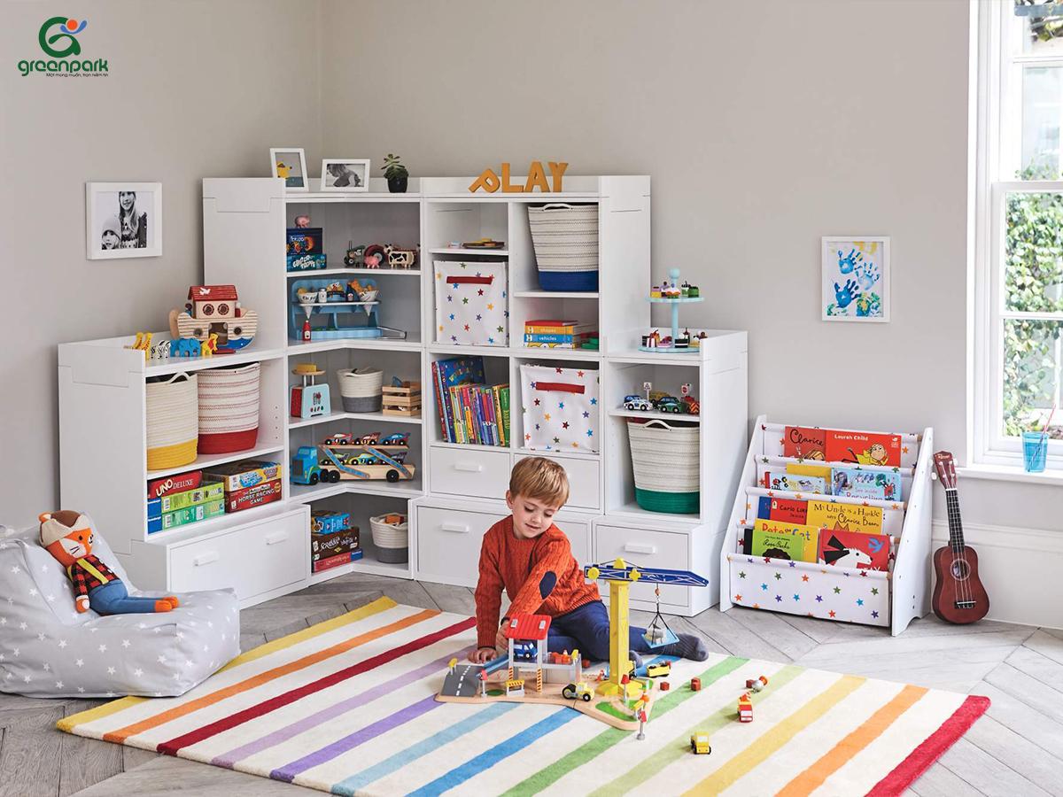 ý tưởng thiết kế khu vui chơi cho bé tại nhà