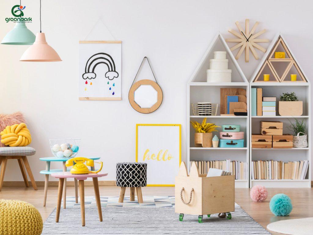 thiết kế phòng vui chơi cho bé tại nhà