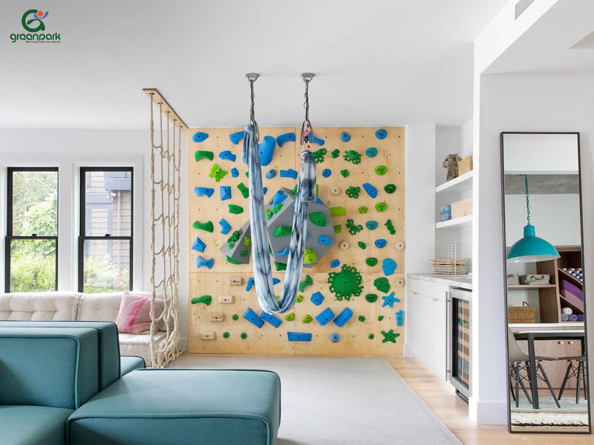 ý tưởng thiết kế phòng vui chơi cho bé tại nhà
