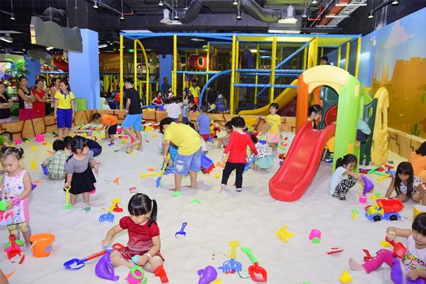 Hệ thống khu vui chơi trẻ em Tiniworld